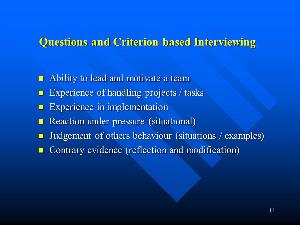 1 The Recruitment Process Job Description Job Description Person