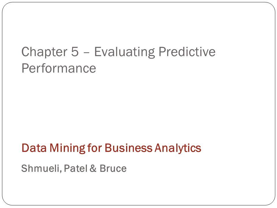 Data Mining For Business Intelligence Galit Shmueli Pdf