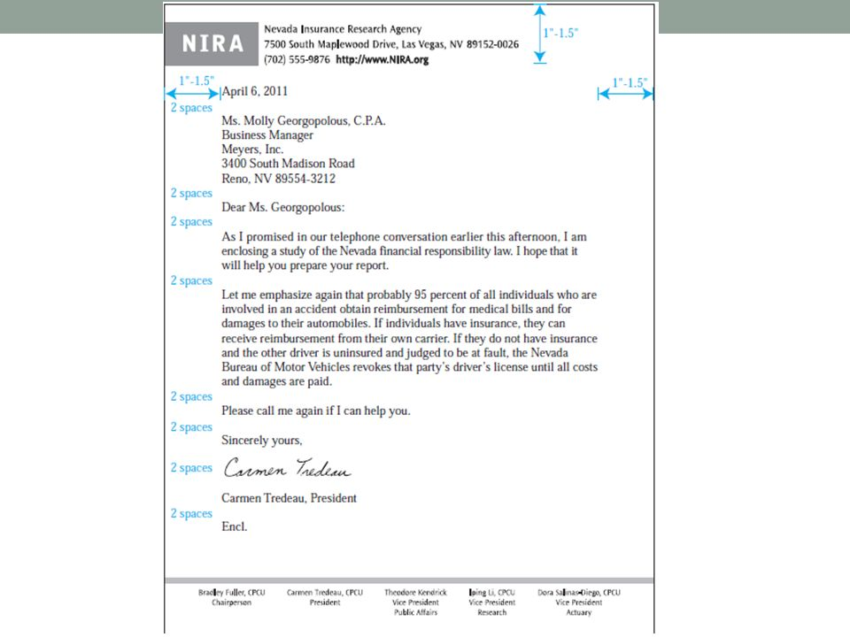 12 business letter formats modified format the writers address if not already imprinted on the letterhead date complimentary close and signature are