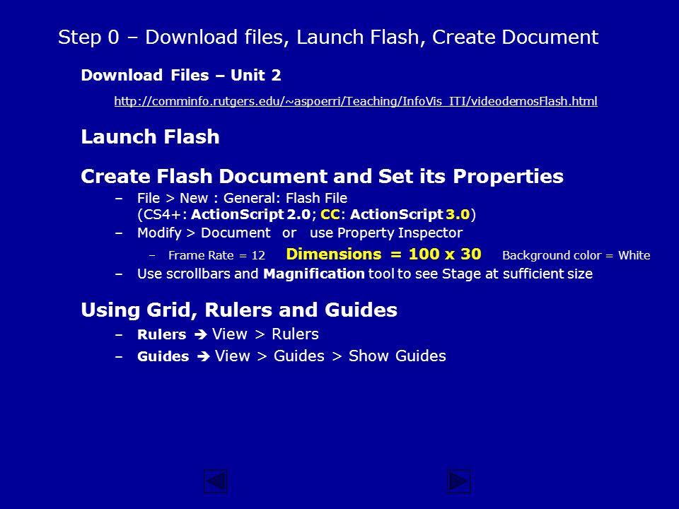 Flash actionscript 2. 0 download.