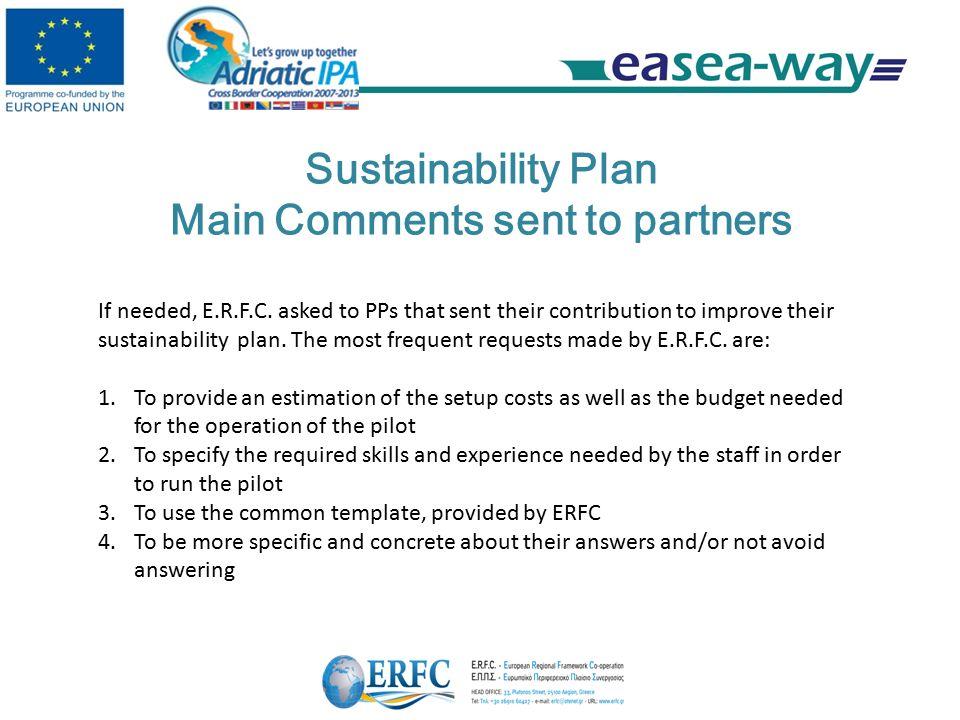Ea sea way wp3 capitalization sustainability wps leaders meeting 12 sustainability plan maxwellsz