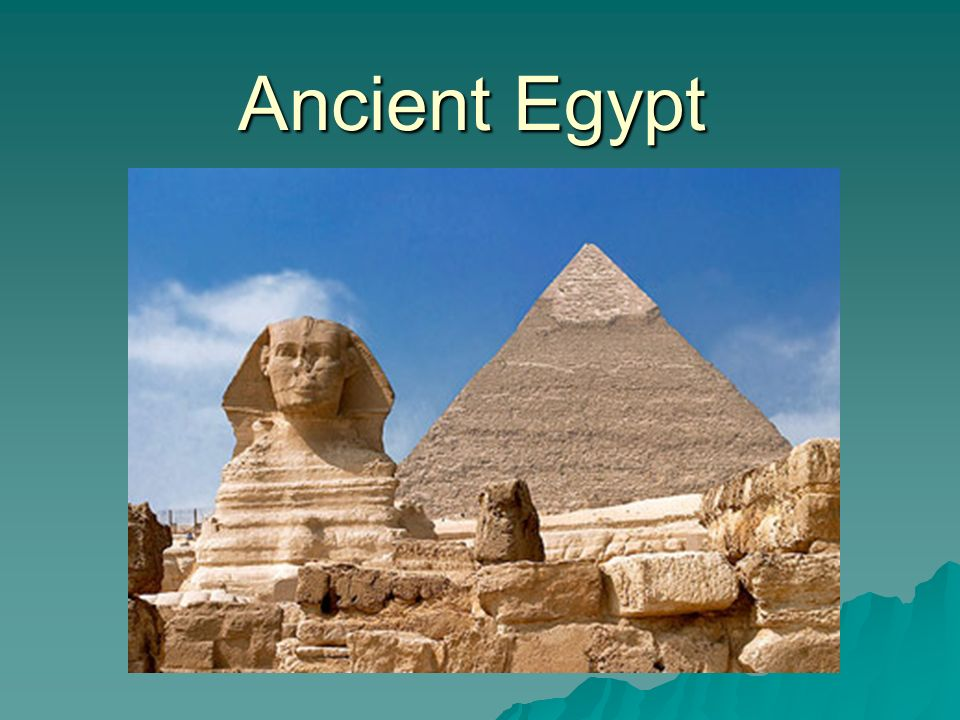 """Ancient Egypt  The Nile River  """"Egypt is the gift of the"""