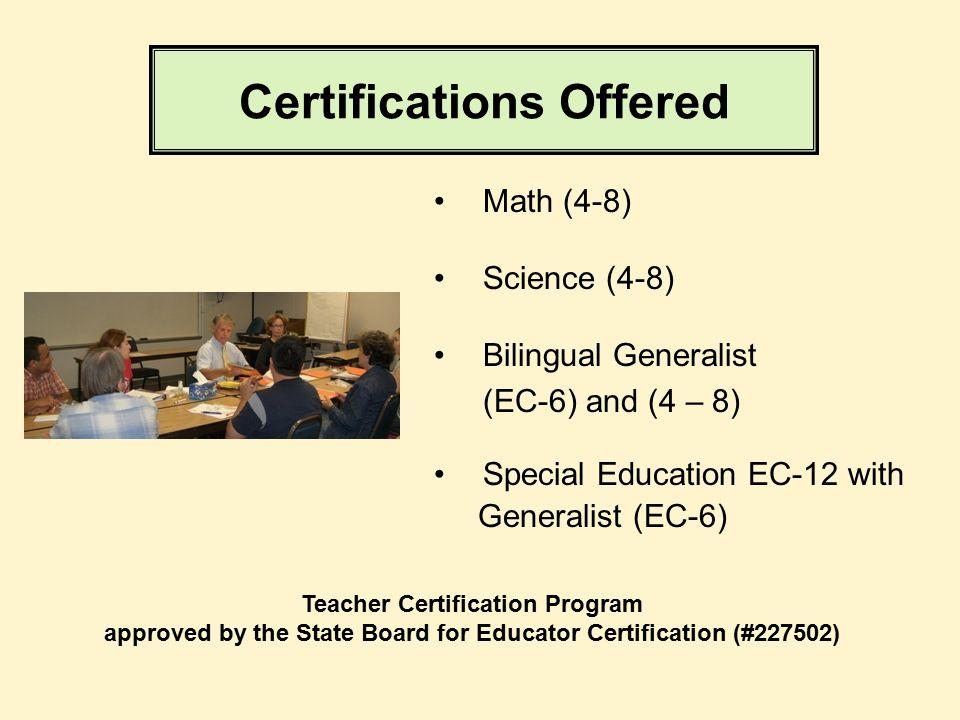 Austin Community College TEACHER CERTIFICATION PROGRAM It\'s all ...