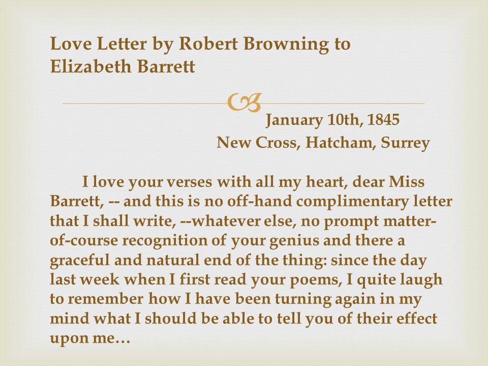 love by elizabeth barrett browning