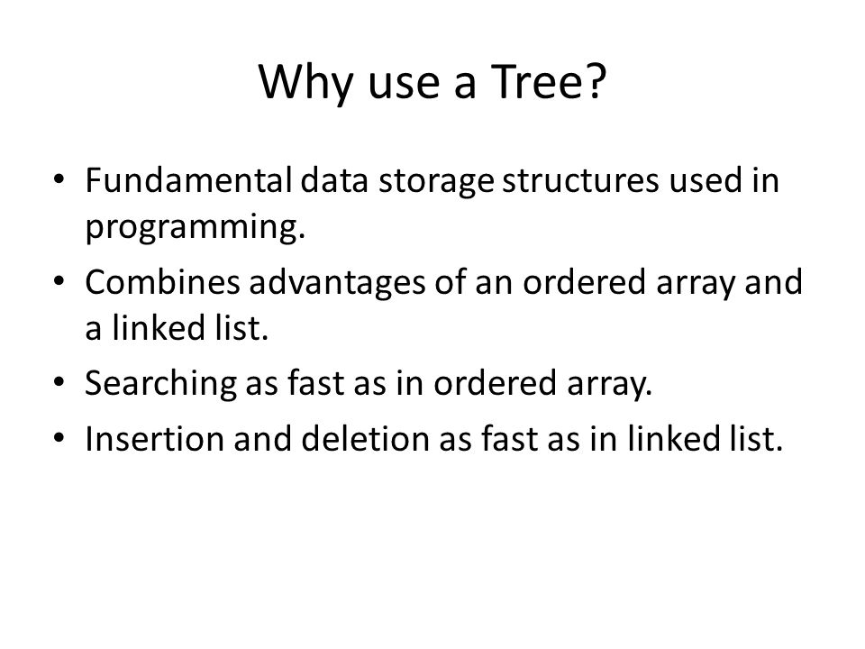 BINARY TREES Objectives Define trees as data structures