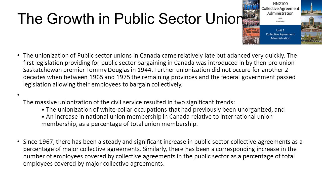 Hn2100 Collective Agreement Administration With Paul Tilley Unit 1
