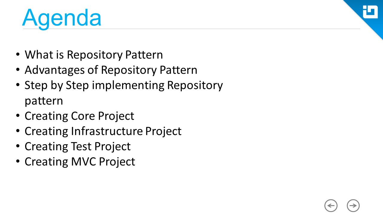 Repository Pattern C Custom Ideas