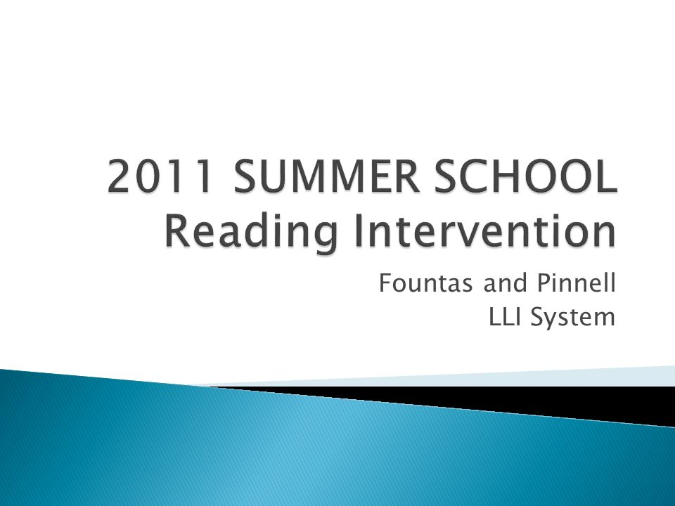 Fountas And Pinnell LLI System Provide 1 2 Lessons Daily