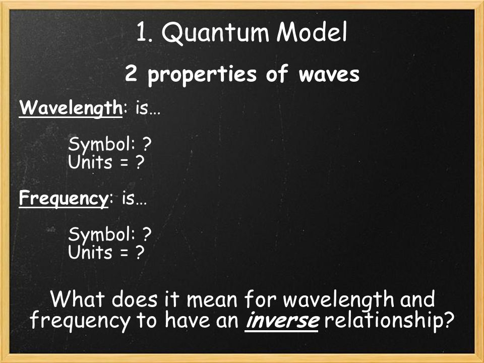1 A Light Wave What Is Light What Is Color What Does The Word