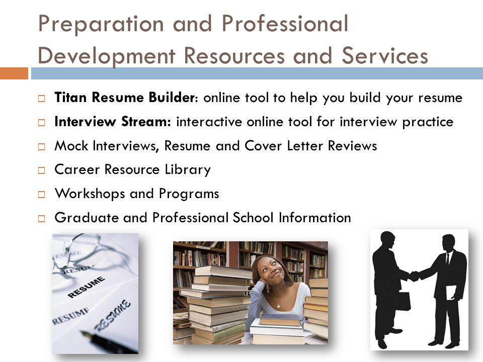 CAREER CENTER SERVICES AND PROGRAMS :: Langsdorf Hall 208 :: (657 ...