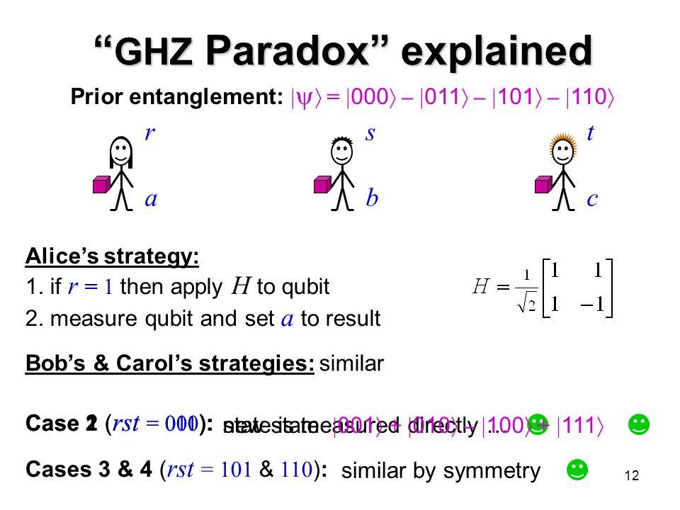 1 Introduction to Quantum Information Processing CS 467 / CS