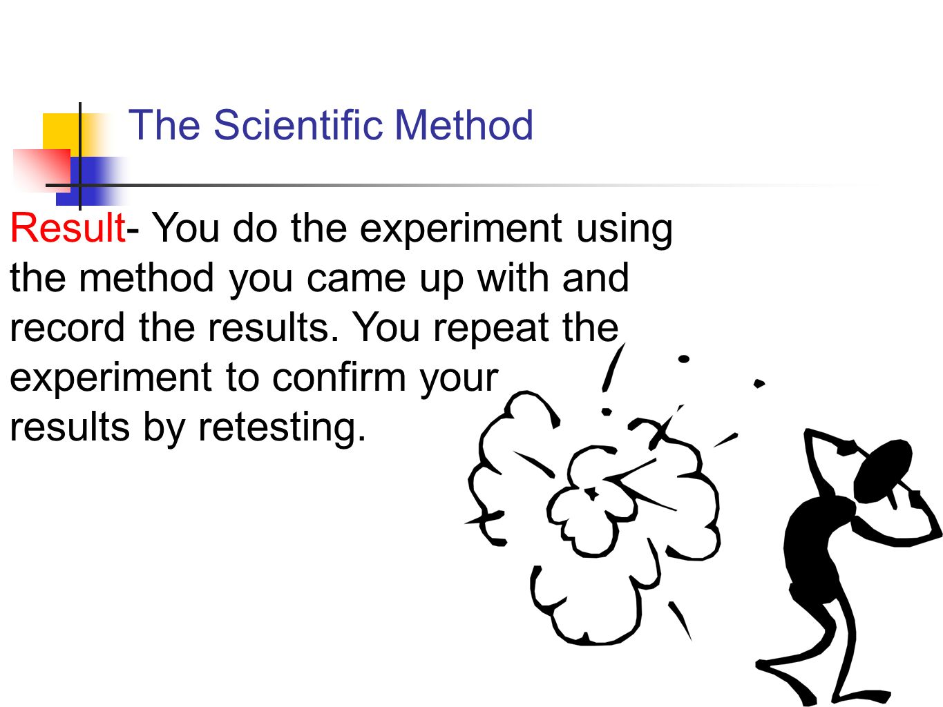 labpaq experiment scientific method The scientific method is the ideal process by which scientists say scientific research should be conducted it is a standardized process which involves asking questions, searching for answers, guessing a possible answer called a hypothesis.