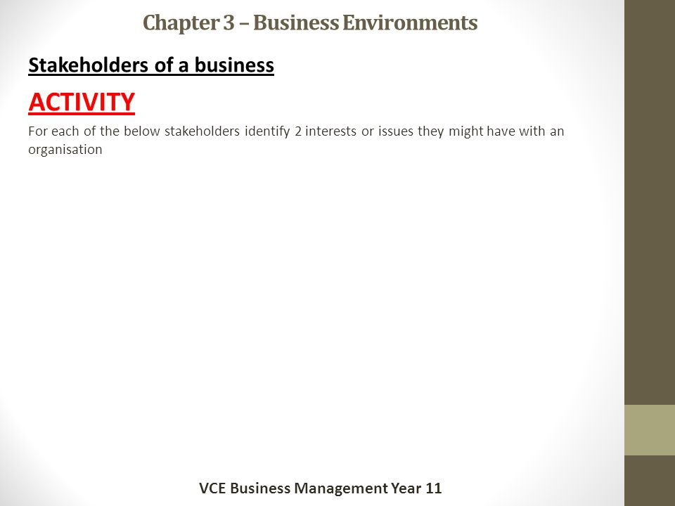 problems that can occur in a business environment