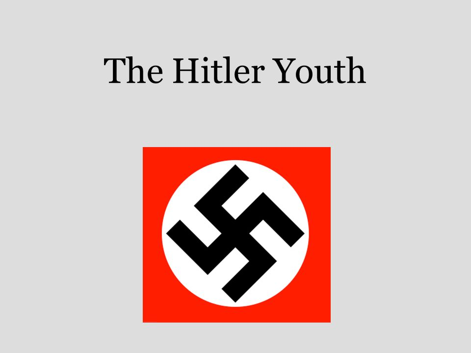 thesis statement on hitler youth Hitler's war against boy scouts fueled the third reich's ideology—and its military might.