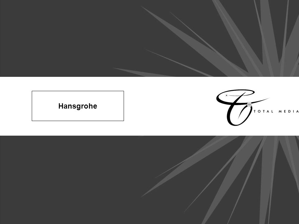 Hansgrohe. Background In its 107-year history, the Hansgrohe company ...