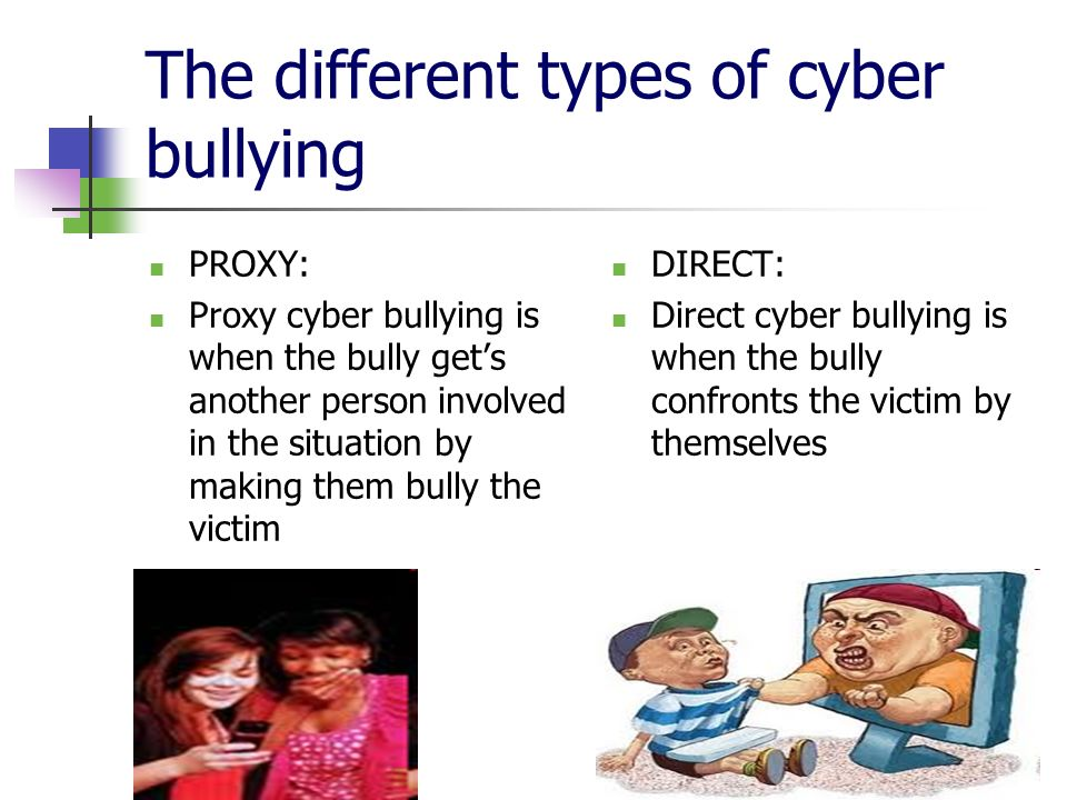 a perspective on cyberbullying and its effects on the victims Cyberbullying can be defined in several terms but it has a similar impact on the victim, as this impacts the self esteem of the victim coping methods like the intervention of the college or school management training of parents and their children in terms of e safety and also the development of.