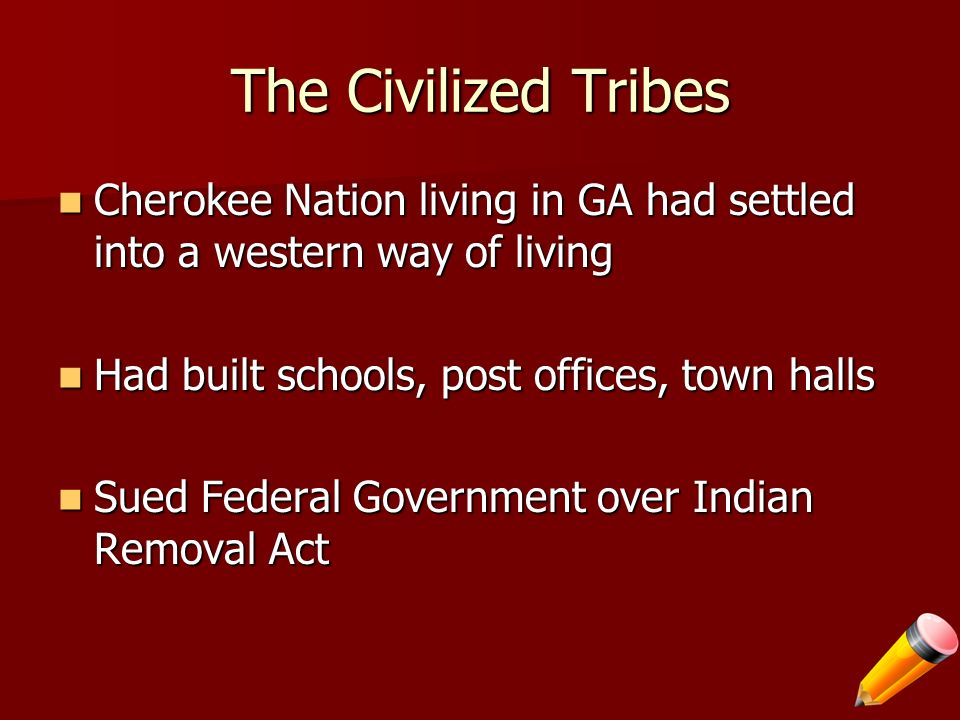 4 The Civilized Tribes