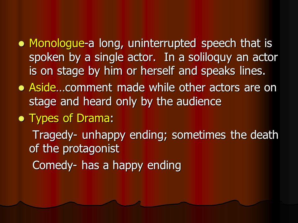 Drama terms dramaa play dramaa play acta division of a play act 3 monologue a ccuart Images