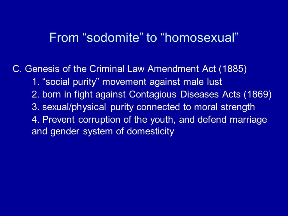 Homosexuality is a contagious disease