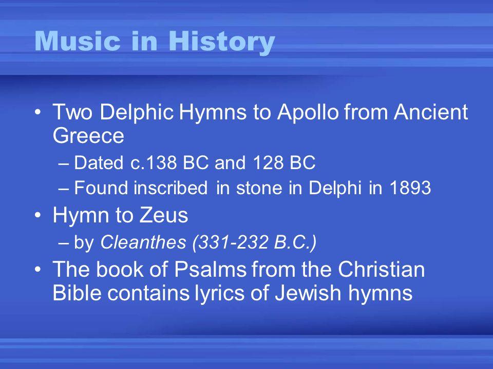 Lyric jewish song lyrics : Music in History. Oldest written song yet known -