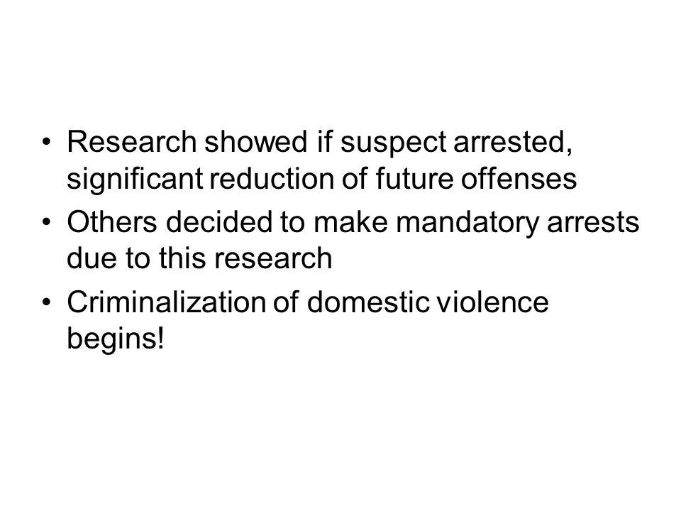 minneapolis domestic violence experiment