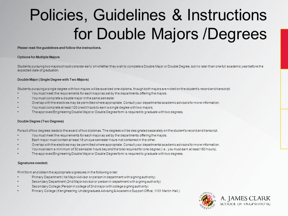 should i double major