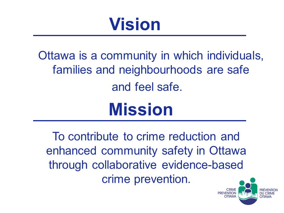 Crime Prevention Ottawa Partners for a Safer Community March 29, ppt