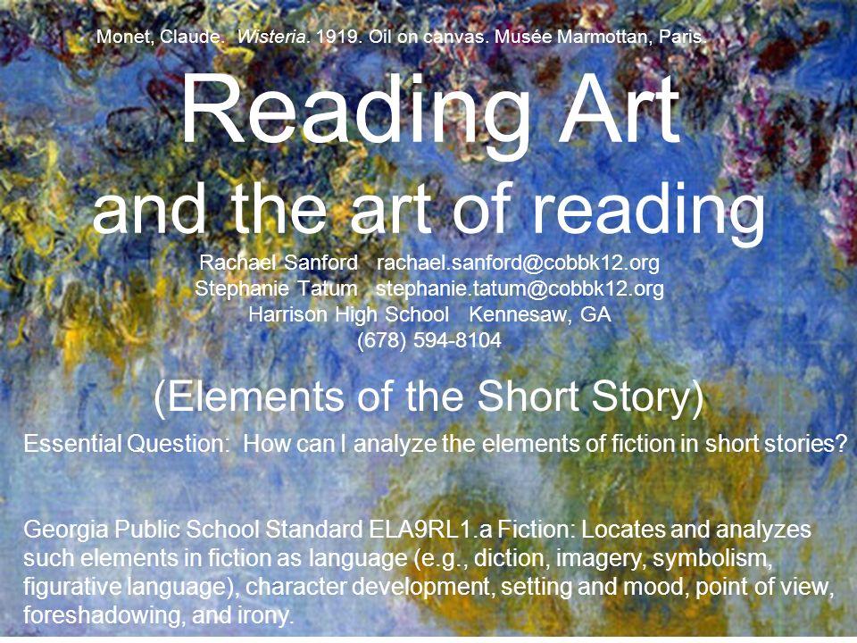 Reading Art And The Art Of Reading Rachael Sanford Stephanie Tatum