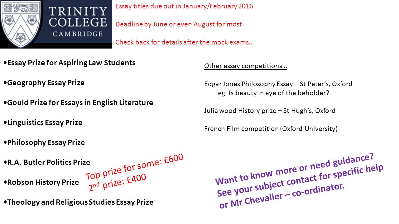 english essay competition