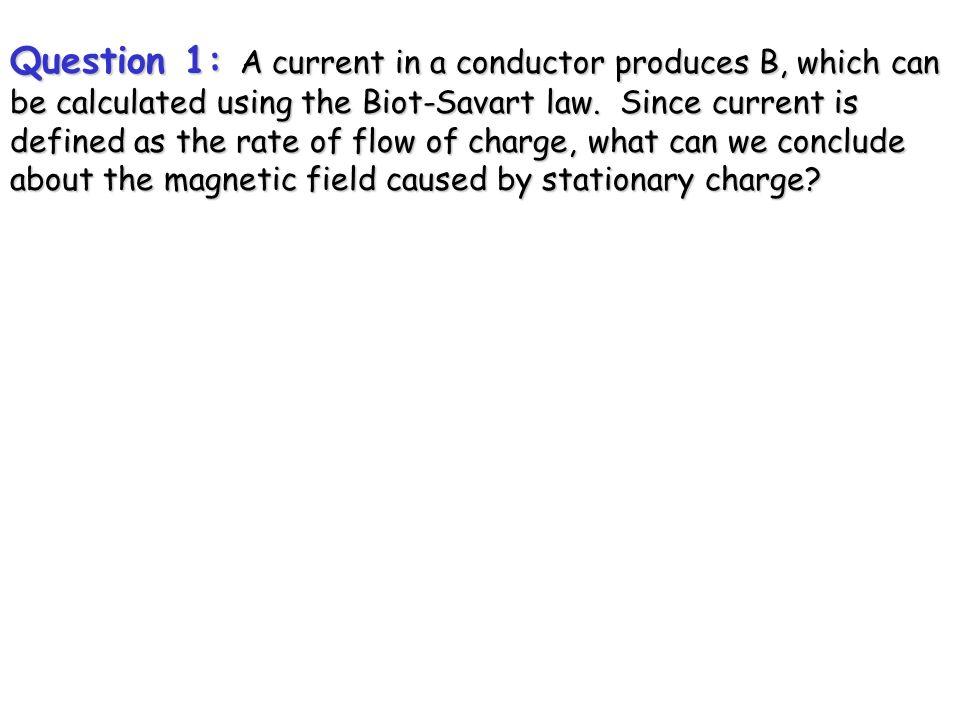 More Examples of Magnetic Flux Biot-Savart Law Ampère's Law