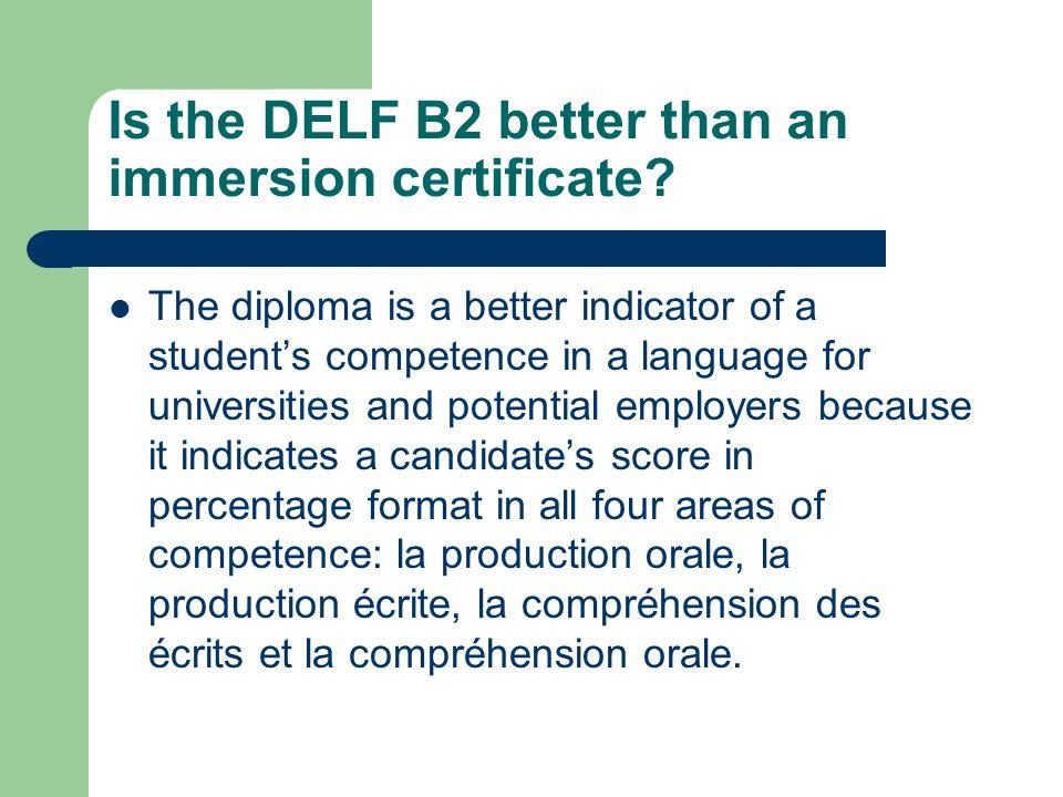 THE DELF/DALF  What are the DELF and the DALF? Official