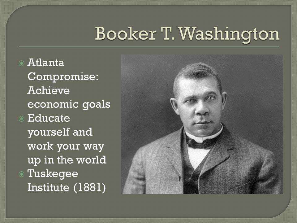 booker t washington accomplishments