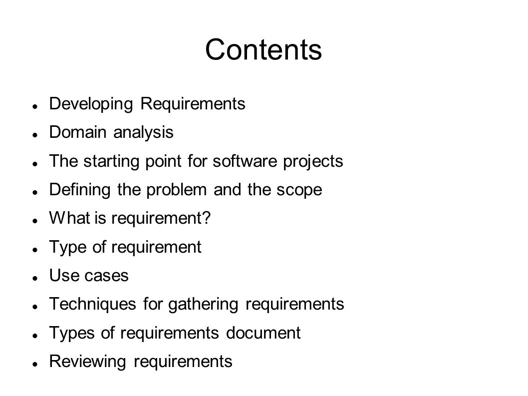 a requirement analysis of the software development of engineering Requirements engineering may be regarded as the front end of software engineering since it focuses on requirements and process phases prior to implementation, although the boundary between requirements engineering and software engineering is becoming increasingly blurred.