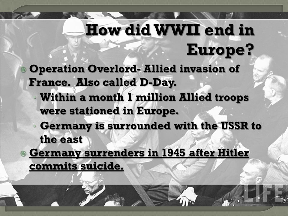 why was d day called operation overlord
