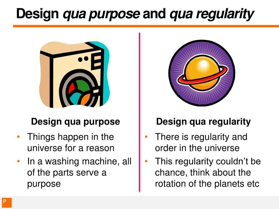 design qua regularity