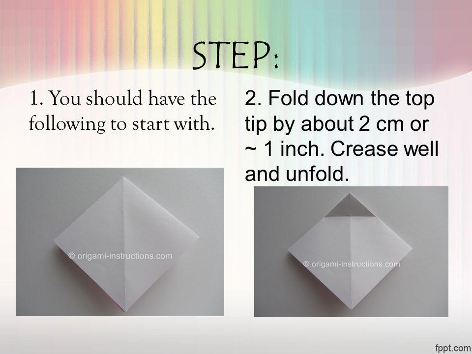 Origami Bow Tutorial - Paper Kawaii | 720x960