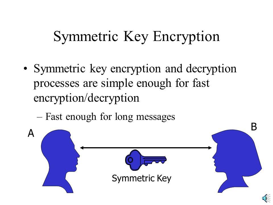 Encryption Encryption: Transforms Message so that Interceptor Cannot