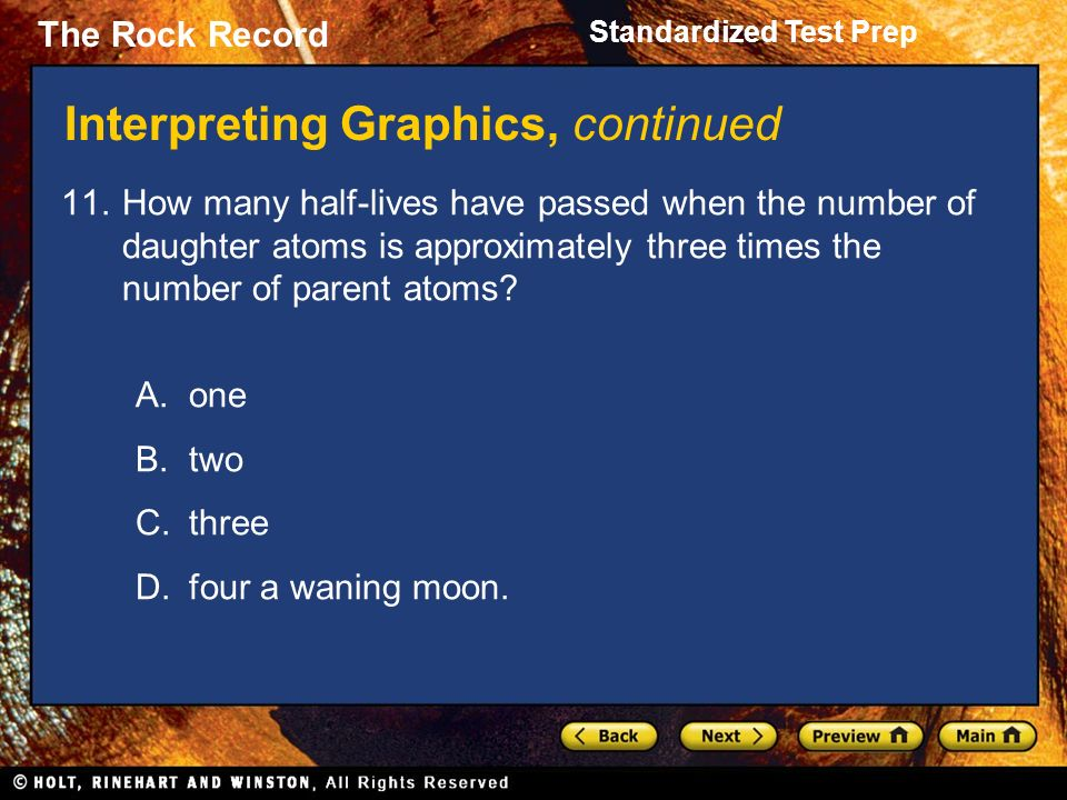 The Rock Record Standardized Test Prep The Rock Record