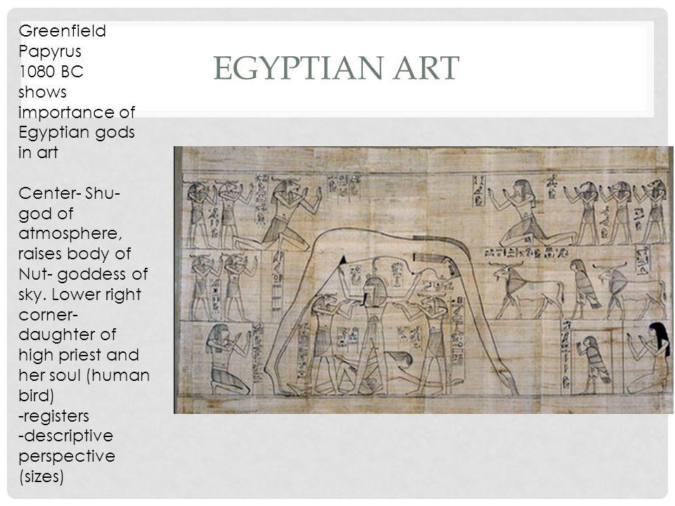 importance of egyptian art