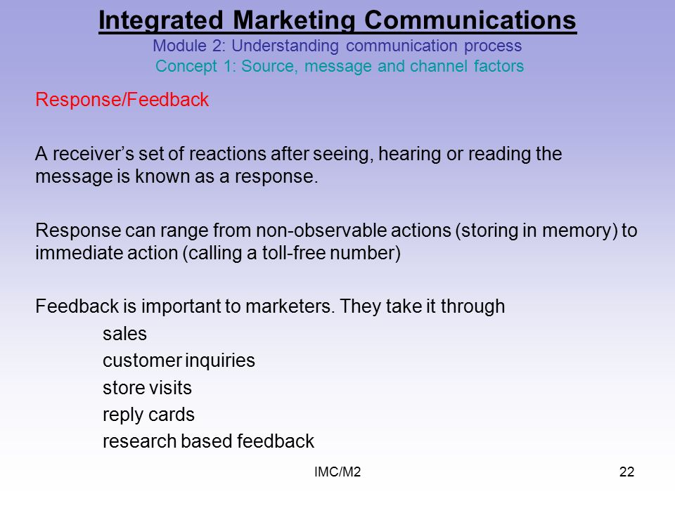 importance of communication process in marketing