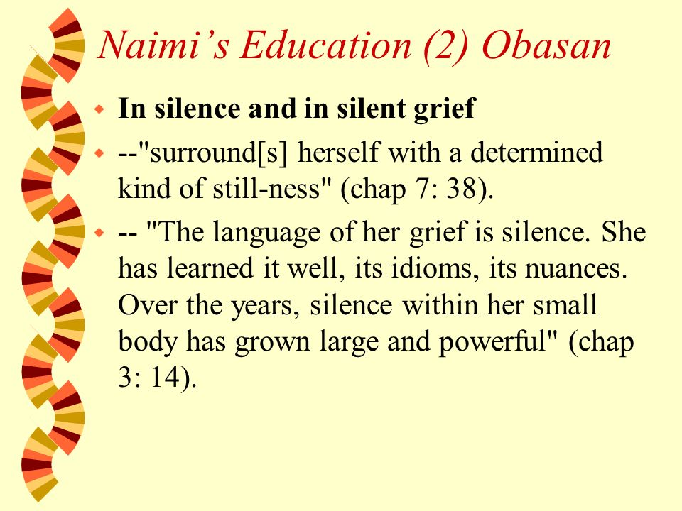 obasan silence quotes