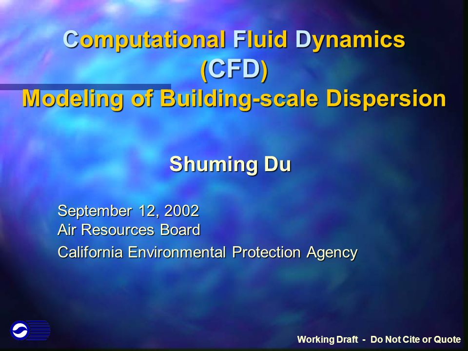 Computational Fluid Dynamics ( CFD ) Modeling of Building
