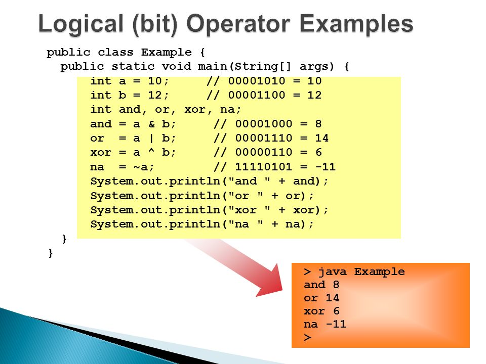 Array ◦ Single & Multi-dimensional  Java Operators