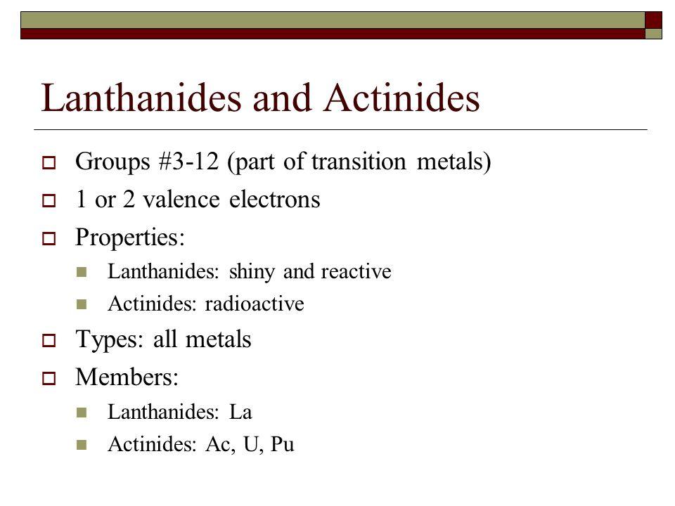 PROPERTIES OF ACTINIDES DOWNLOAD