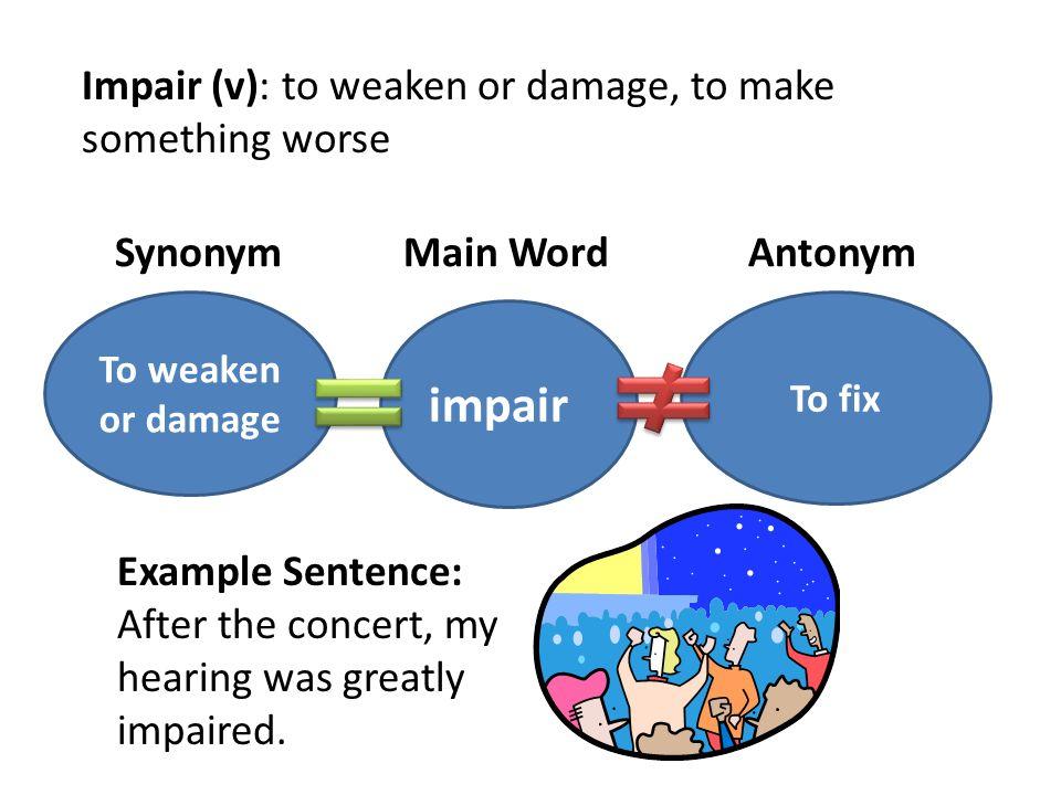 Flowers for Algernon Vocabulary  Synonym Main Word Antonym
