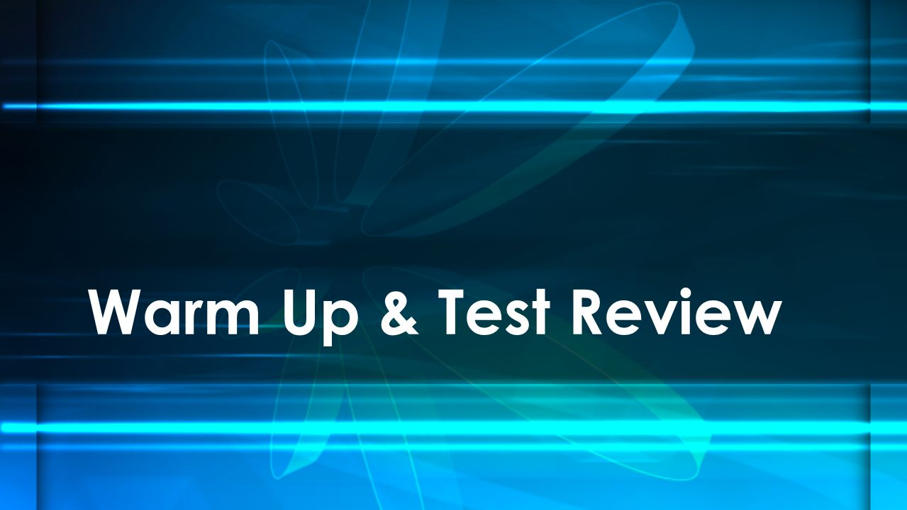 Warm up test review record the symbol write the periodic table 1 warm up test review urtaz Image collections