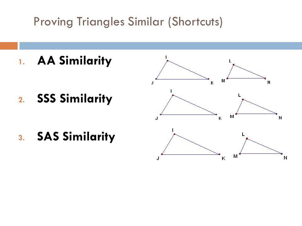 Bellwork 73a Similar Triangles Students Will Be Able To Prove That