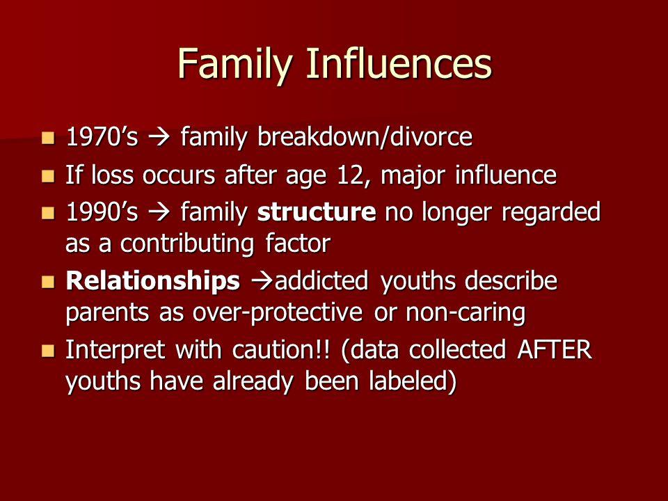 family breakdown sociology
