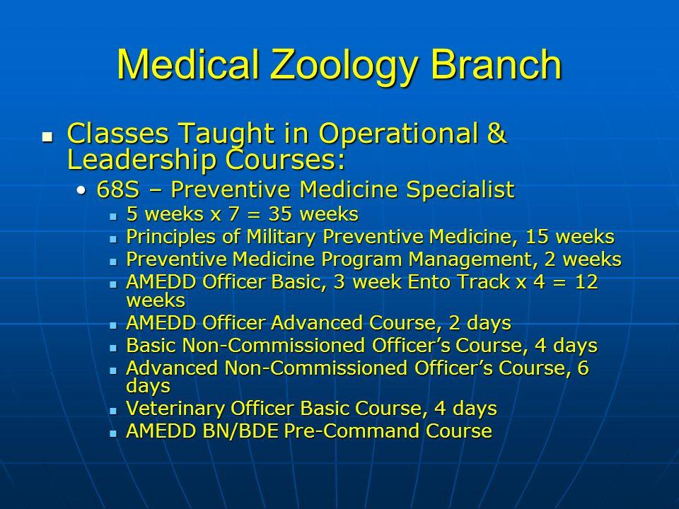 68s preventive medicine specialist