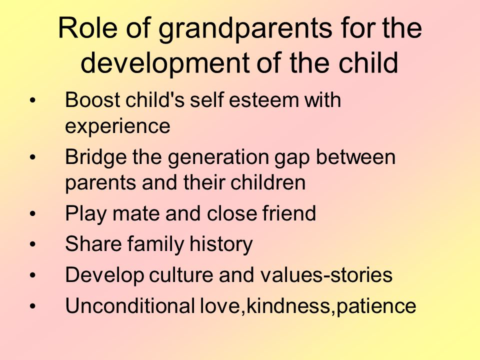 role of family in personality development